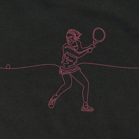 Women's Tennis T-Shirts, Tennis Gifts for Women, Women's Graphic Tees, Cool T-Shirts, Women's Tennis Shirts, Tennis Art, Unique Tennis Gifts
