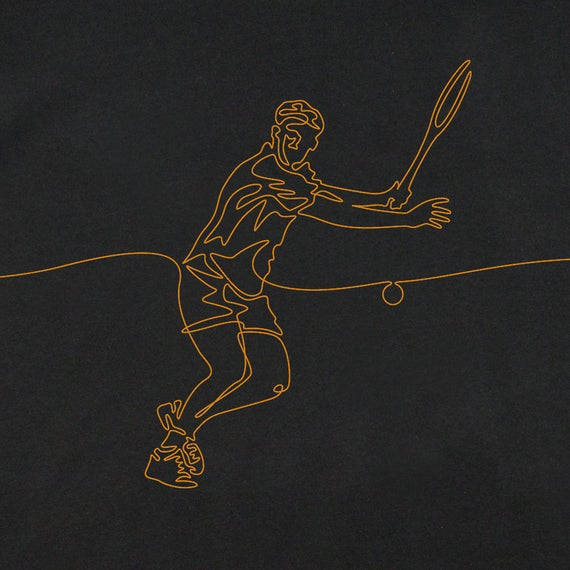 Men's Tennis T-Shirt, Men's Tennis Gift, Men's Graphic T-Shirt, T-Shirt for Male Tennis Player, Cool T-Shirts, Tennis T-Shirts, Graphic Tees