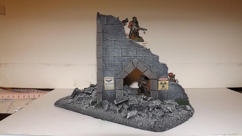 wargaming terrain ruin building