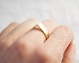 JUNO 1st drip ring available in 925 silver, copper or brass