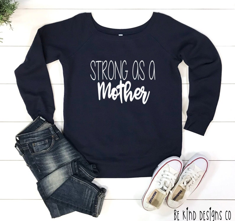 Mom Strong Tee Gift For Mom Mom Life Shirt Trendy Shirts For Mom Mother/'s Day Gift Strong As A Mother Long Sleeve Flowy Tee