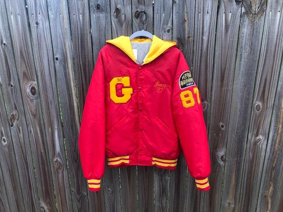 1980s Letterman Jacket