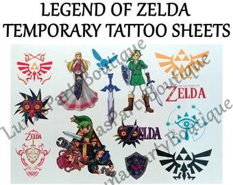 Triforce Tattoo Etsy