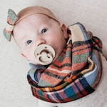 Plaid Infinity Scarf, Baby Infinity Scarf, Toddler Fall Outfit, Adult Infinity Scarf, Mom and Me