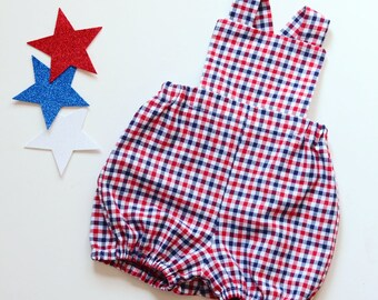2887c7ad2 Red baby overalls