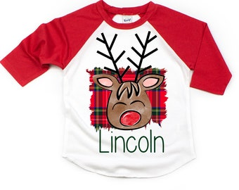 deer boy christmas kids shirt, toddler christmas shirt, boys christmas shirt, sibling christmas shirt, deer shirt, baby boy christmas