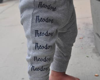 baby name pants etsy