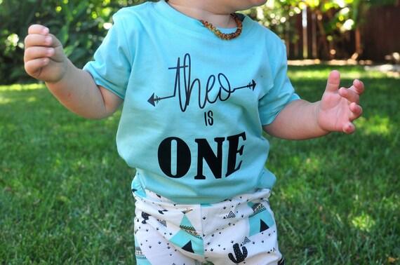 Boy Birthday Shirt First One Im
