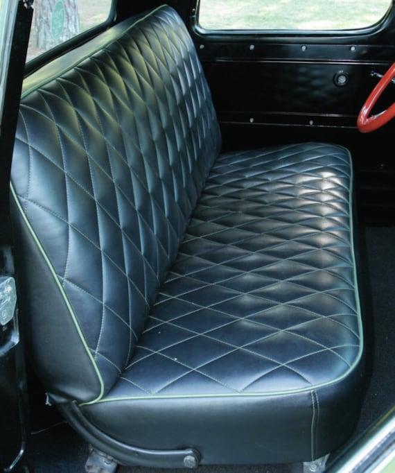 The Diamond Derby Custom Car Upholstery Cover