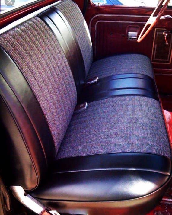 Remarkable The Murphy Chevy Gmc 1955 1959 Custom Truck Bench Upholstery 1955 1956 1957 1958 1959 Classic Hot Rod Apache Stepside Fleetside Pdpeps Interior Chair Design Pdpepsorg