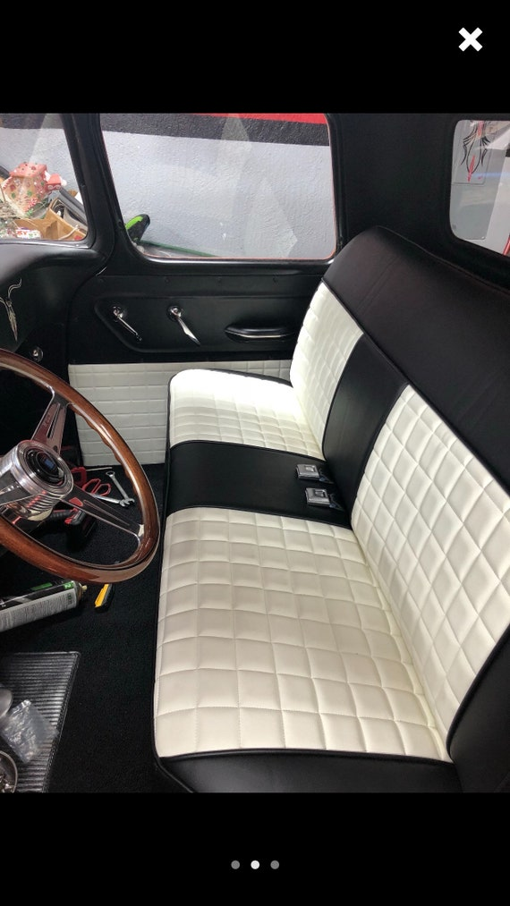 Swell The Hooligan Chevy Gmc 1973 1980 Custom Truck Upholstery 1973 1974 1975 1976 1977 1978 1979 1980 C10 Square Body Bench Seat Cover Andrewgaddart Wooden Chair Designs For Living Room Andrewgaddartcom