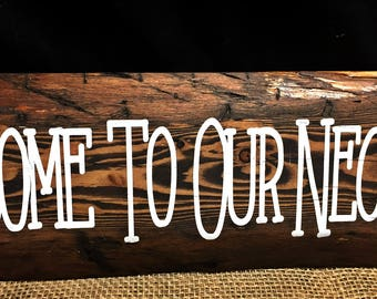 Cabin Signs, Camping Sign, Welcome Sign, Lodge Sign, Cabin Decor, Outside Sign, Porch Decor,