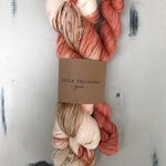 pumkin spice latte hand-dyed sock kit