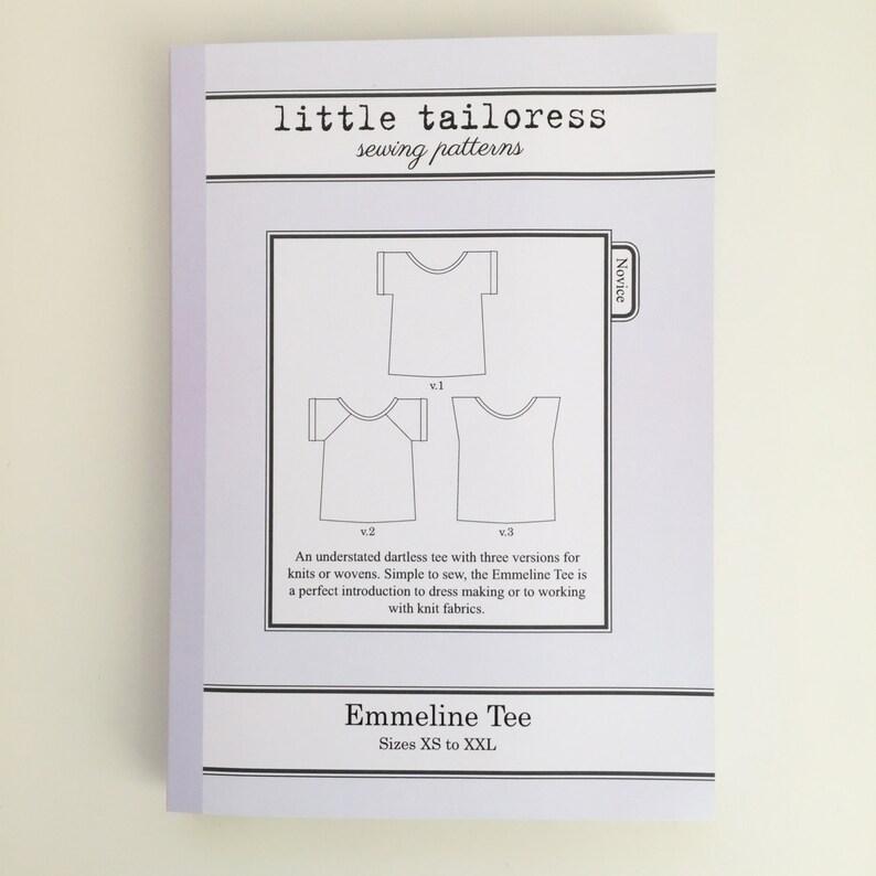 Little Tailoress Emmeline Tee Pattern image 0