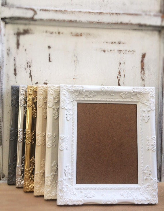 Picture Frame 8x10 Shabby Chic Gold French Country Etsy