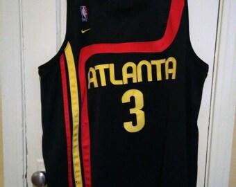 8d70898a3 Retro Atlanta Hawks Nike Jersey sz XXL