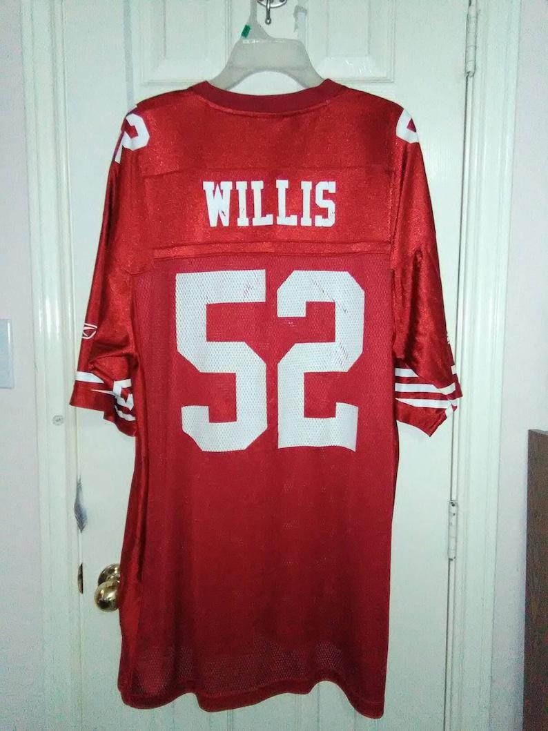 67f62c37 San Francisco 49ers Patrick Willis vintage Jersey sz XXL