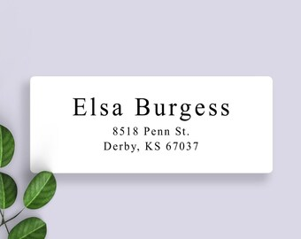 Small Address Labels