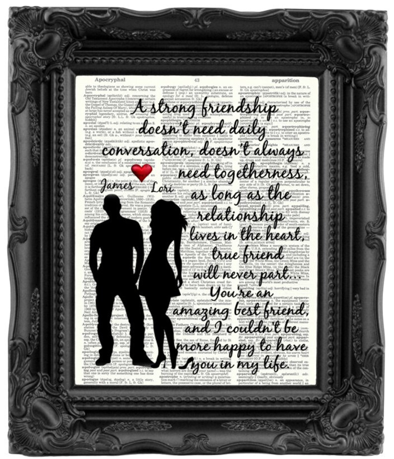 Best Friend Gift Boy And Girl Personalized