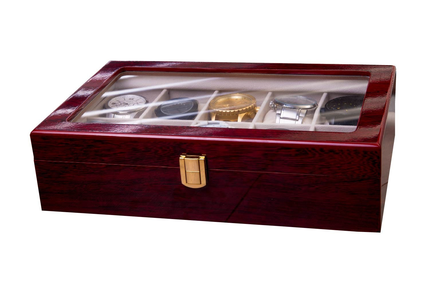 Valentines Day Gift For Him Watch Box Mens Gift Man Gift Elegant
