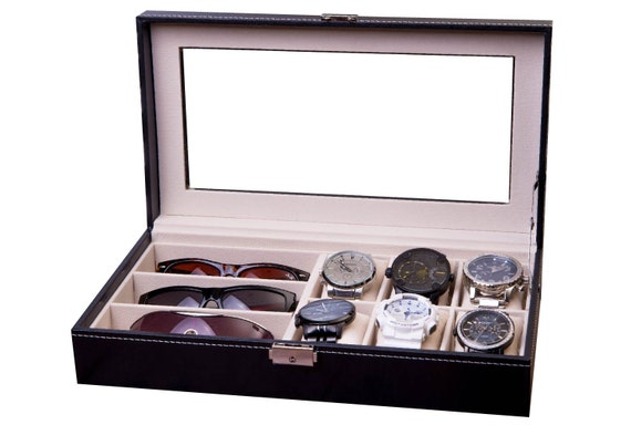 Delicieux Watch U0026 Sunglass Box Combo Display Case Watch Case | Etsy