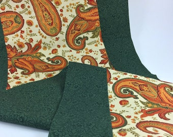 ON SALE: Fall Paisley Table Runner *** 30% OFF ***