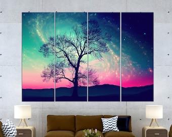 Tree canvas, Tree canvas art, Tree canvas print, Tree on canvas, Large tree art, Large tree wall art,  Tree wall decor, Canvas wall art