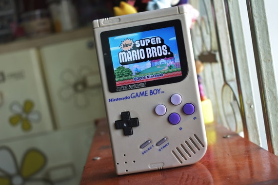 Nintendo Gameboy DMG 01 Backlit Mod - DS FAT Inside - DMG103