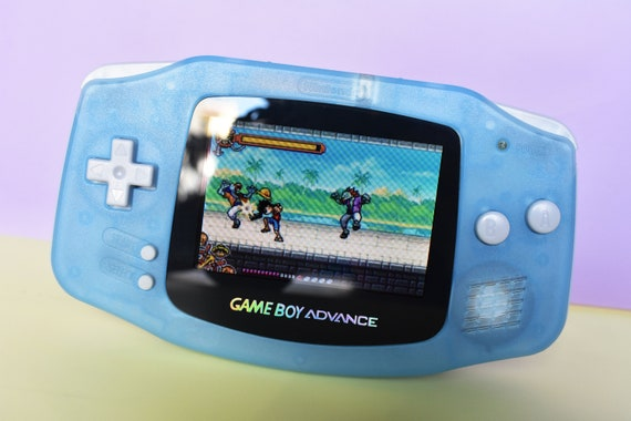Backlit IPS/ags101 LCD - Get free extra mod - Backlit GBA Mod Nintendo  GameBoy Advance Glow In Dark Glass Lens