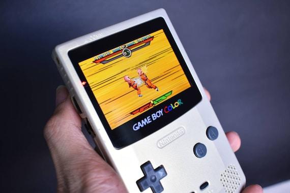 Nintendo Gameboy Color Backlit Mod Gbasp Inside Gbc102