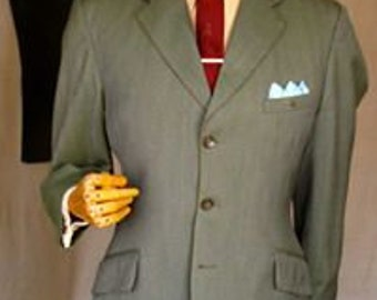 d73629d546454 Original late 60 s Burton s Director all wool cloth suit Mod Skinhead  period. NB replaced button and slight damage on edge of one sleeve 40