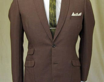 """Original tailored Mod Mohair jacket by Levy of London. 38"""" chest"""