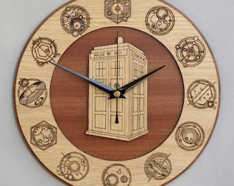 Doctor Who Clock / Tardis Clock