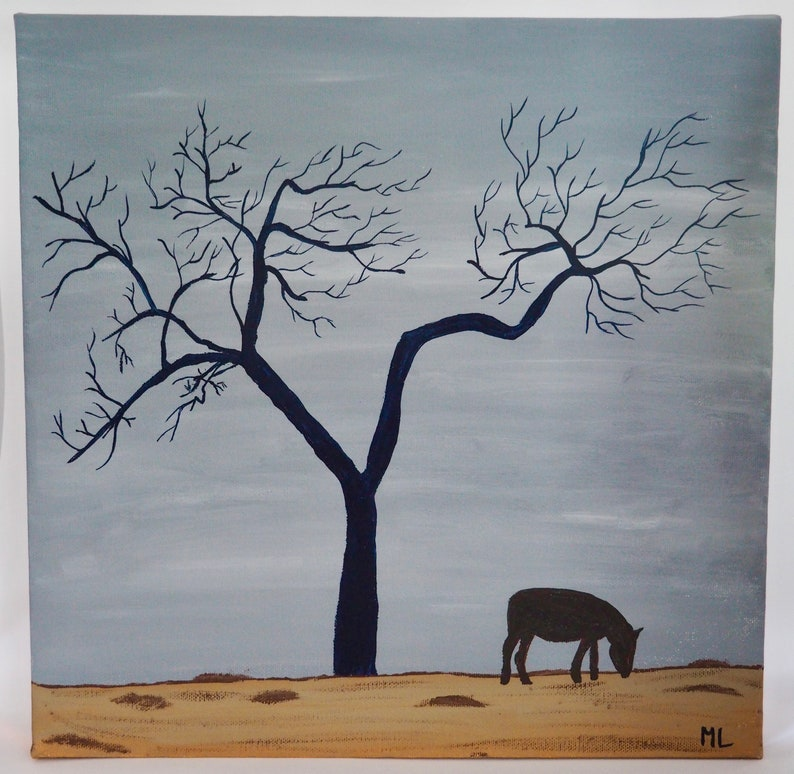 Lone Tree Lonely Horse image 0