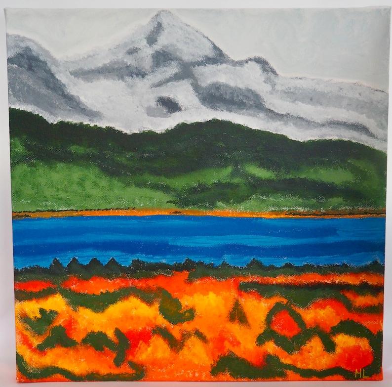 Autumn Mountain Scene image 0