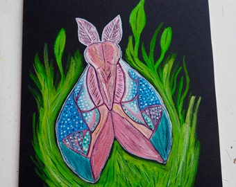 Trippy Cerise Moth