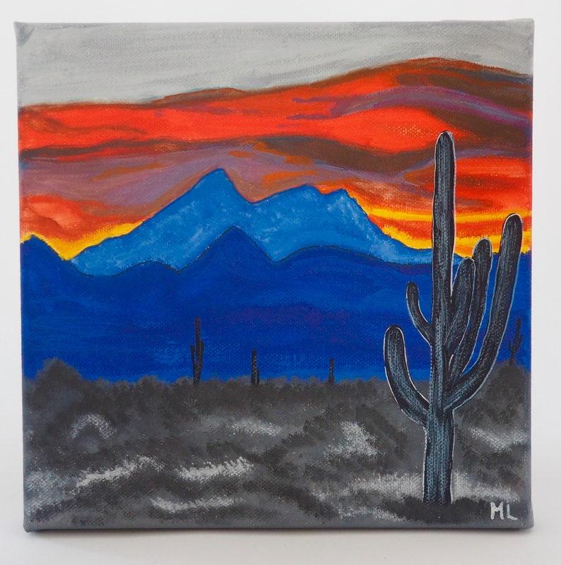 High Desert Sunset image 0