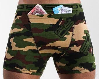 Boxershorts Cotton Blend Boxer Trunks England Smuggling Duds Boxer Briefs
