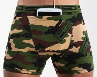Jungle Camo Smuggling Duds Boxer Briefs