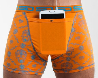 Skull Check Smuggling Duds Boxer Briefs