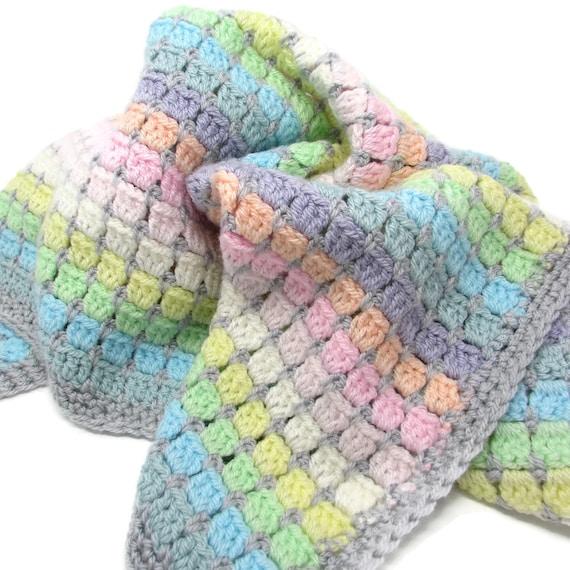 Jahrgang Rainbow Baby Decke Bausatz Decke Baby Shower | Etsy