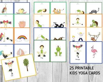 Toys Hobbies Yogi Fun Bundle Yoga Dice Game Yoga Book