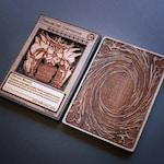 Custom Wooden Yu Gi Oh Cards