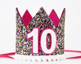 10th Birthday Crown Girl