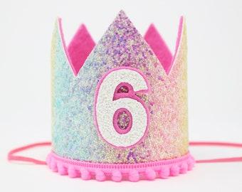 Rainbow Birthday Crown  b412d5216854