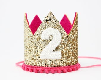 2nd Birthday Crown Girl