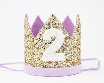 2nd Birthday Crown Girl