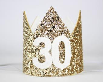 30th Birthday Crown