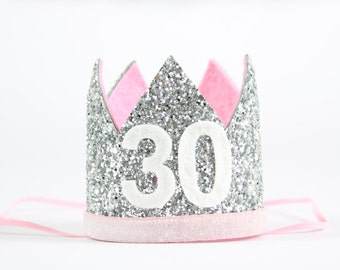 30th Birthday Hat Flirty Thirty Crown For