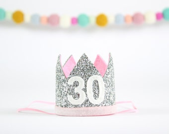 Flirty 30 Crown 30th Birthday For Her Hat